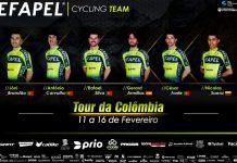 EFAPEL faz hoje primeiros quilómetros da época na Colômbia