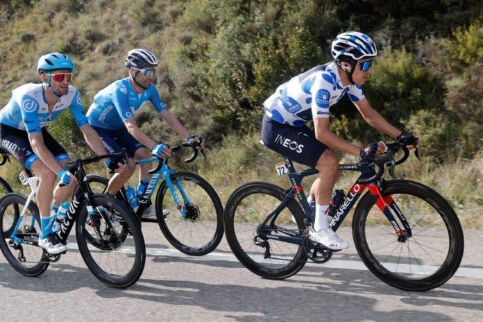 Fuga E Tim Wellens Dominam Atenções Antes Do 'Caos' À Boca Da Meta Na Vuelta
