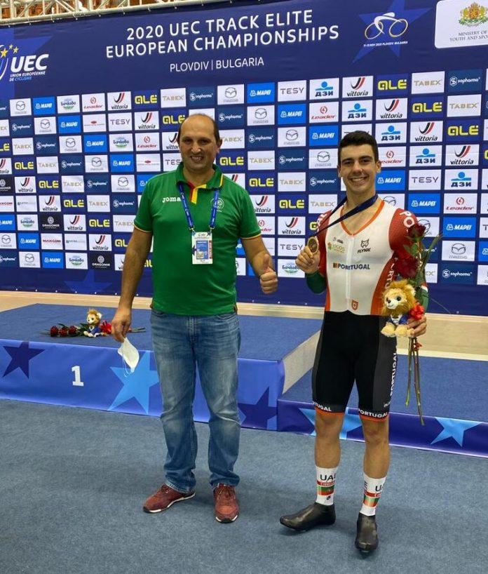 Campeonato Da Europa De Pista   Iuri Leitão Conquista Medalha De Bronze Em Omnium