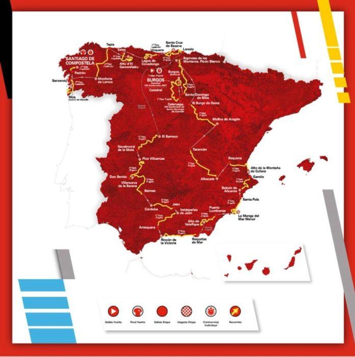 Apresentada A Vuelta A España 2021