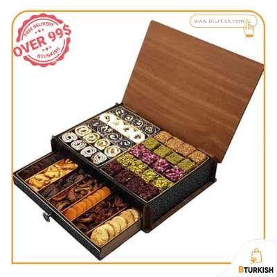 Mixed Delight-Dried Fruit - Turkish sweets - Turkish Delight