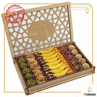Premium Assorted Dried Fruit Dried Nuts Box Mixed Dried Fruit