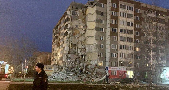 взорвавший дом в Ижевске