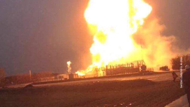 Взрыв напункте транспортировки газа из РФ: прерваны поставки внесколько стран