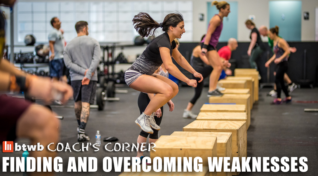 Coach's Corner: Finding and Overcoming Weaknesses
