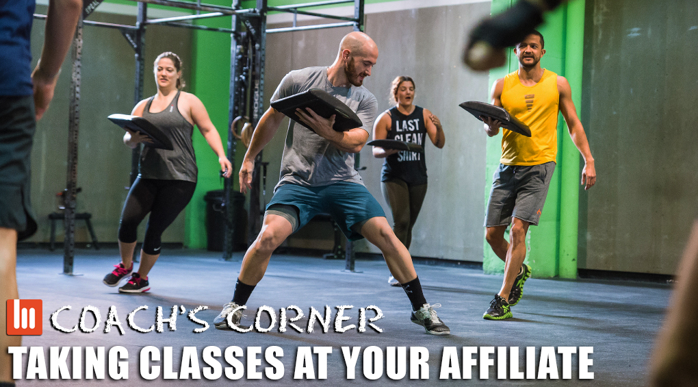 Coach's Corner: Taking Classes At Your Affiliate