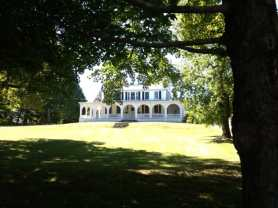 The present-day Catholic Rectory in Pomfret near the sits near the corner Pomfret Street. Photo by Kate Abbott
