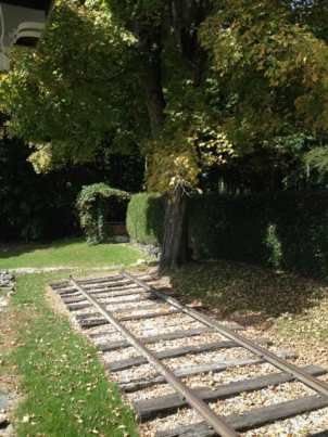 French had a short rail track laid outside his studio for moving his sculptures into the sun. Photo by Kate Abbott