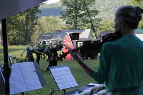 Musicians perform at the Marble House in Dorset, Vt. Photo courtesy of Marble House Project