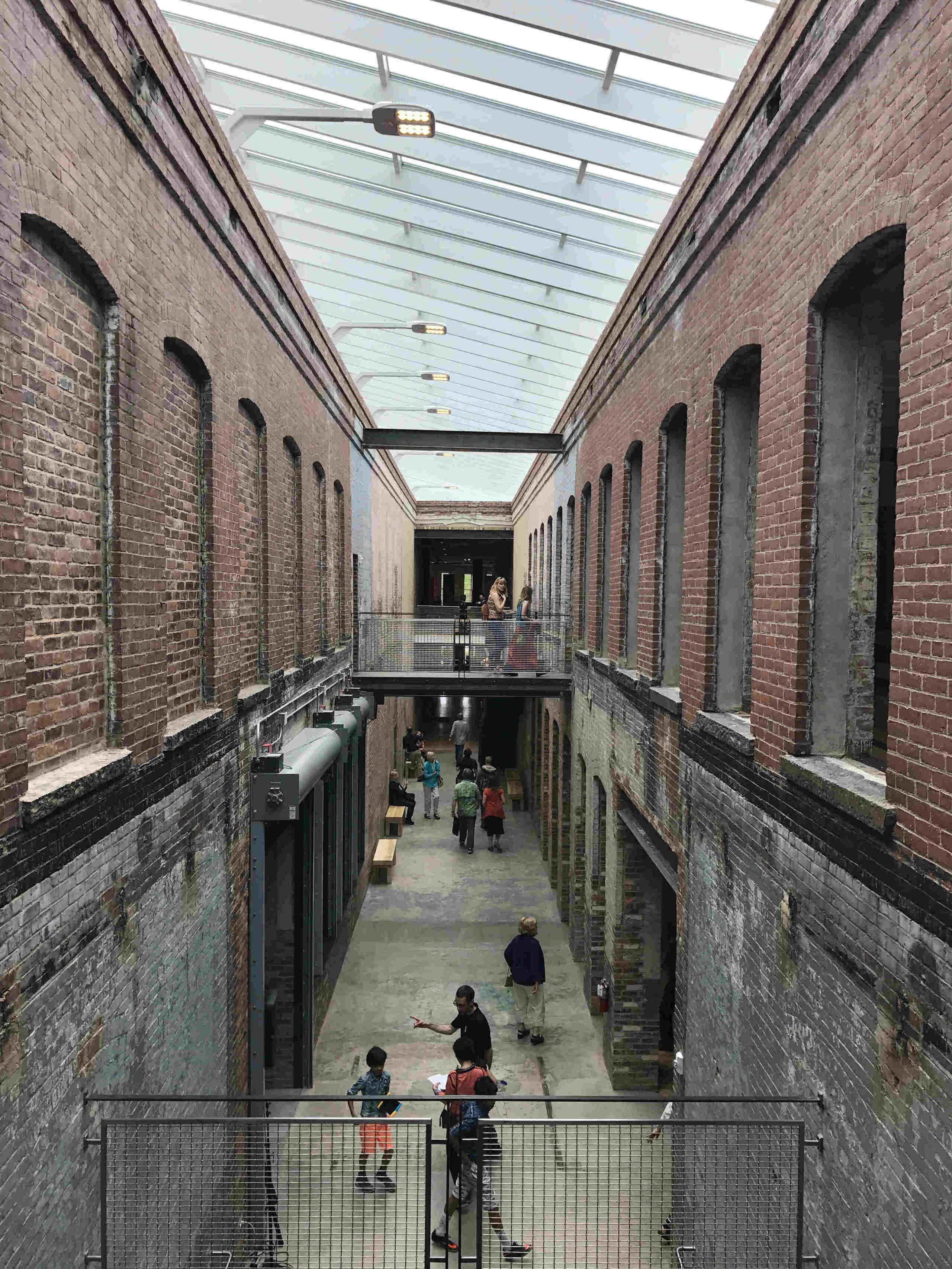 Vistas open across wide spaces in Mass MoCA's new Building 6. Photo by Kate Abbott