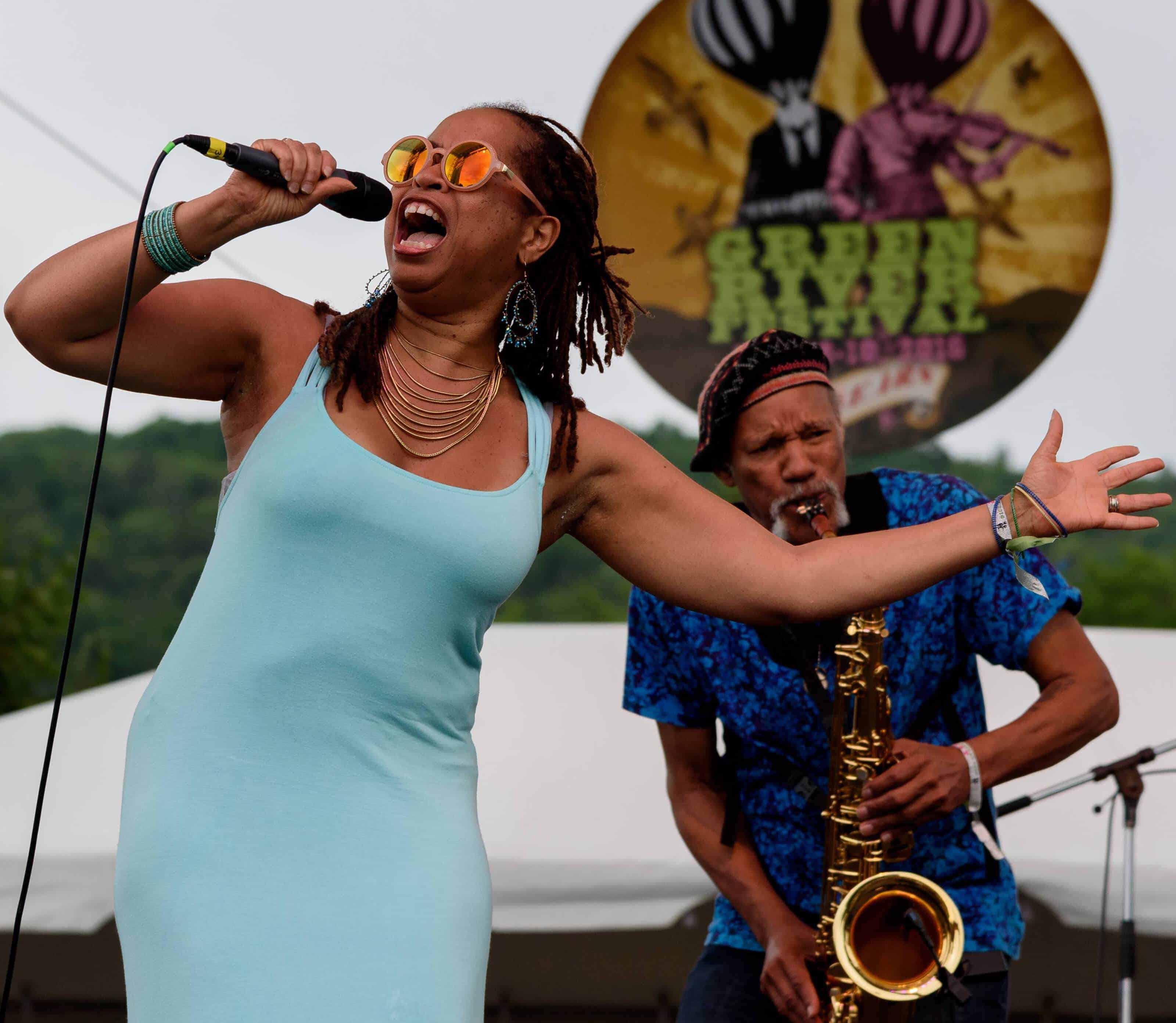 New Orleans jazz and blues artist Samirah Evans will join saxophonist Charles Neville at Flavours of Malaysia on Oct. 13. Photo courtesy of Pittsfield CityJazz