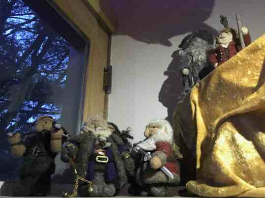 Going Gnome wool sculpture. Photo by Kate Abbott