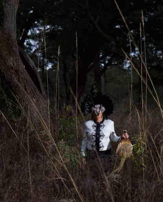 Allison Janae Hamilton: Brecencia and Pheasant II. (Close up) Courtesy of the artist