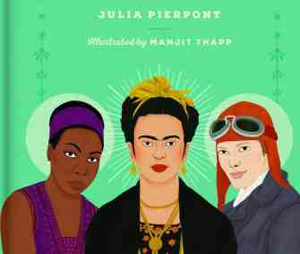 Julia Pierpont, author of 'The Little Book of Feminist Saints,' will talk about today's publishing world with her editor at The Mount in Lenox.
