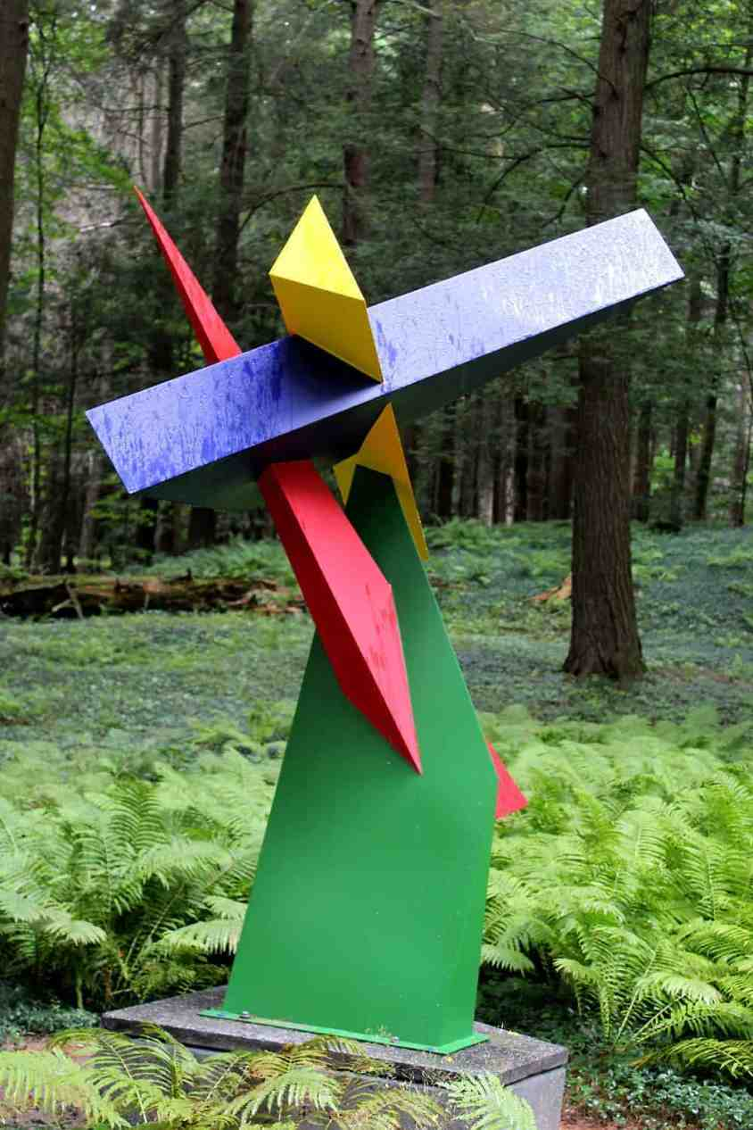 'Akew' in Sculpture Now 2018 on the grounds of the Mount in Lenox. Photo by Thom Smith