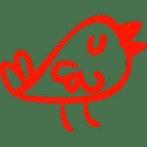 BTweeps - Bird handmade logo - Branded