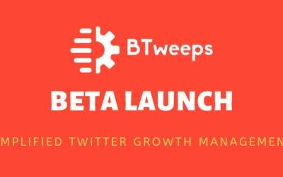 BTweeps BETA Announcement
