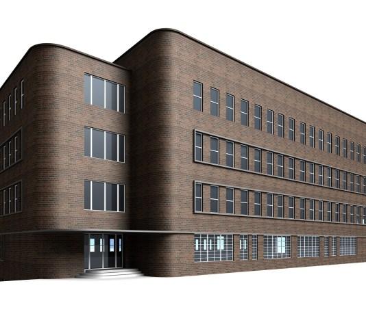 Kantoorgebouw Villa Weergave Visualisatie Kantoor Bedrijf Vestiging Pand Gebouw Vastgoed Onroerend Goed Onroerende Zaak
