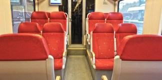 NS spoorwegen treincoupe reizen rails