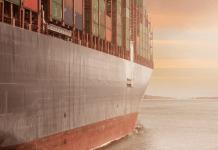 Zeeschip Containerschip
