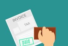 Belasting Factuur Betaald Stempel BTW Omzetbelasting
