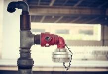 Kraan Aansluiting Op Waterleiding Buis Water Pijp