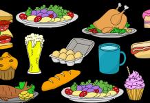 Levensmiddelen Voedsel Gezonde Vitaminen Gerechten Eten en Drinken