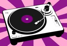 Platenspeler Vinyl Muziek Record Disco