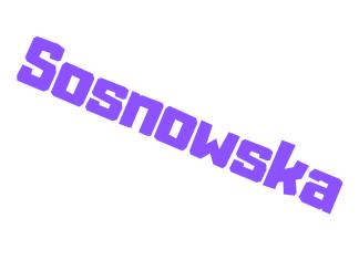 Sosnowska