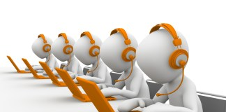Call Center Telefoon Service Help Oproep Corporate Desk