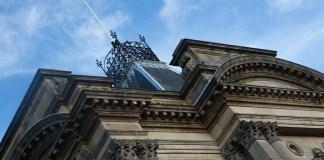 Huddersfield stadhuis gebouw
