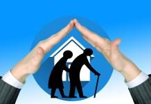 Verpleeghuis Senioren Zorg Voor Ouderen Bescherming Beschermen