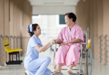 Verpleegster Zuster Verpleegtehuis Zorginstelling