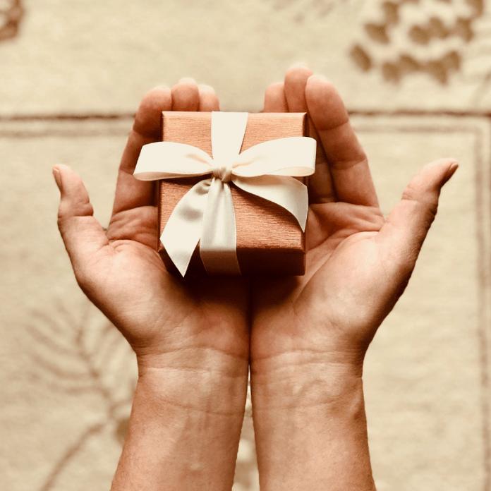 Cadeau voor nieuwe klant