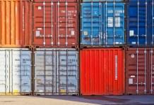 Container Containerhaven Haven Lading Vervoer Uitvoer Export Illegale