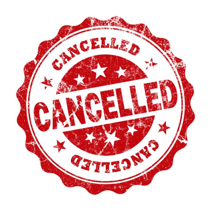 Opzeggen Beëindigen Cancellen