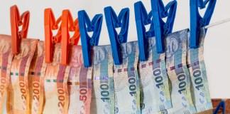 Witwassen Van Geld Bestrijding Van De Criminaliteit Vals Geld