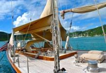 kajuitzeiljacht zeilboot