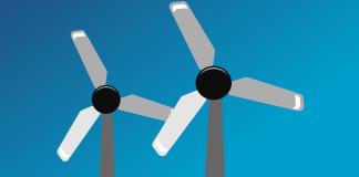 windmolens illustratie