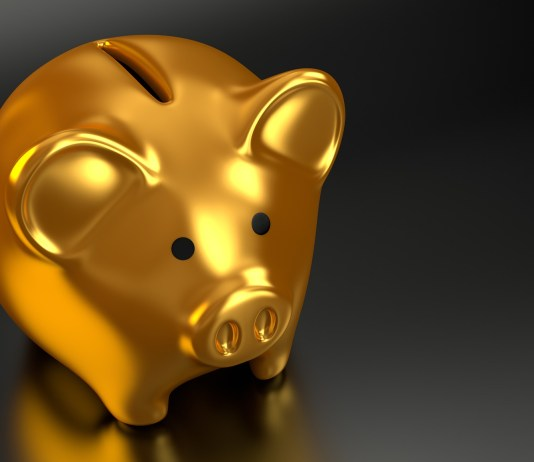 gouden spaarvarken golden piggy bank voor bij hvj morgan stanley arrest