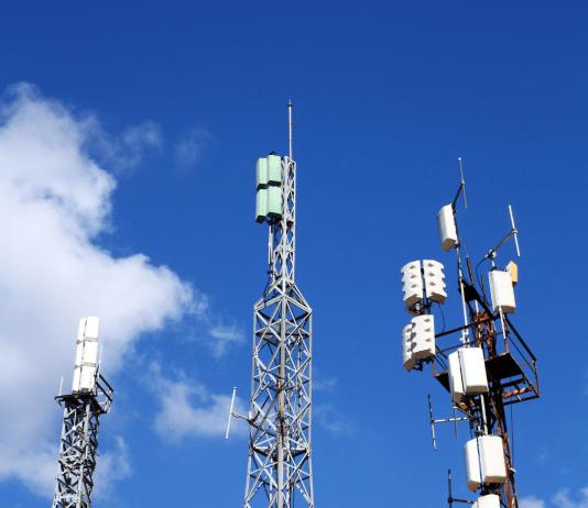 Antennes telecommunicatie antennenetwerk