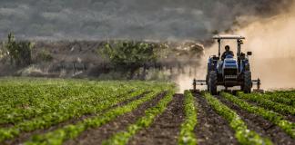 Akkerbouw landbouw tractor trekker boerenbedrijf