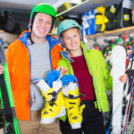 Wintersport sportartikelen sportzaak