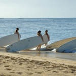 Surfschool surfles surfplank