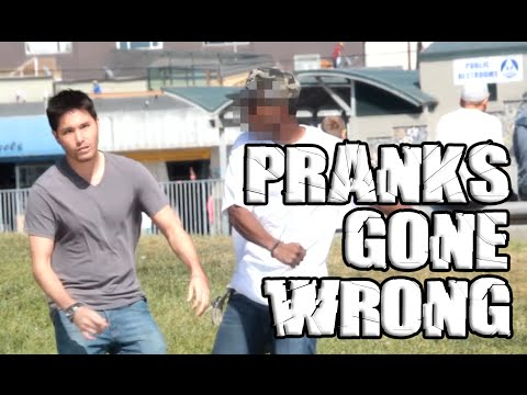 Pranks gone horribly wrong!