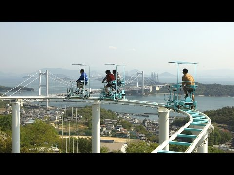 Would You Try This Pedal-Powered Roller Coaster in Japan?