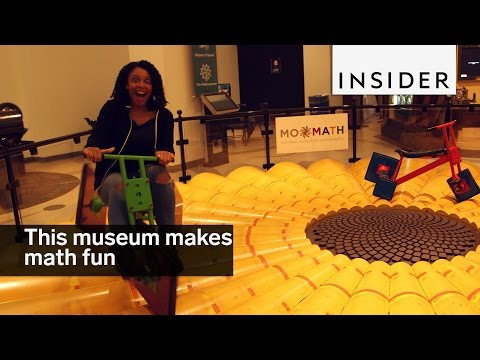 Cool Museum in NYC Makes Math Fun
