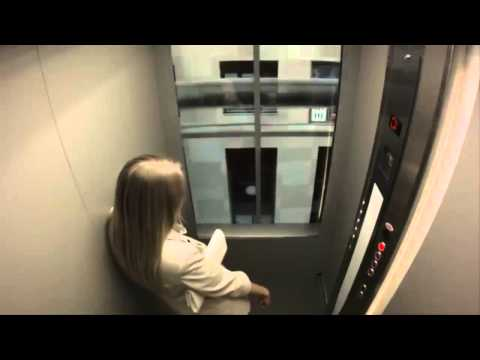 You Wouldn't Know How to React to this Crazy Elevator Prank