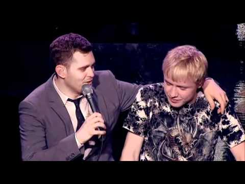 Michael Buble Is Blown Away By This Young Fan's Voice