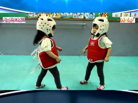 Have You Seen The Most Adorable Taekwondo Fight?